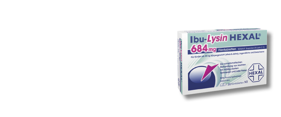 Ibu-Lysin HEXAL® 684 mg